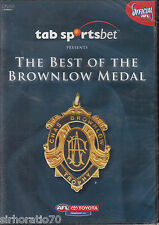 THE BEST OF THE BROWNLOW MEDAL - AFL Football DVD - New / Sealed