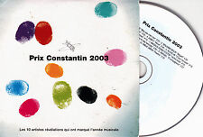 CD CARDSLEEVE COLLECTOR 10T CARLA BRUNI/RAPHAEL/BIOLAY/MICKEY 3D/DIAM'S/E. SIMON