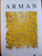 RARE CATALOGUE 1993 ARMAN 63 pages superbes ill 1993 GALERIE RETELET Charleroi