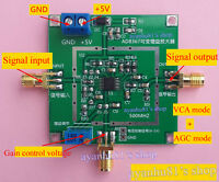 AD8367 1-500MHz Broadband RF Signal Amplifier Module 45dB Linear Variable Gain