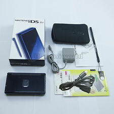 Brand New Enamel Navy Blue Nintendo DS Lite HandHeld Console System + gifts
