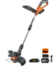 WG156 WORX 2 BATTERY  20 Volt 2-in-1 Lithium Cordless Grass Trimmer