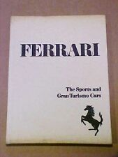 Ferrari The Sports and Gran Turismo Cars Book History signed by Richard Merritt