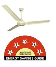 Crompton BEE 5 Star Power Saver Ceiling Fan HS Plus  ( Ivory ) 1200 MM (48')