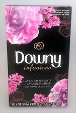 Downy Infusions Lavender Serenity Fabric Softener Dryer Sheets 105 count