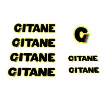 Gitane 1980s Bicycle Decals, Transfers, Stickers n.400