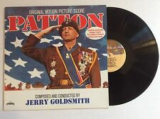 PATTON original soundtrack GEORGE C. SCOTT vinyl LP MINT JERRY GOLDSMITH