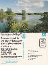 1994 CAUSEWAY LAKE BAYLHAM SUFFOLK COLOUR POSTCARD