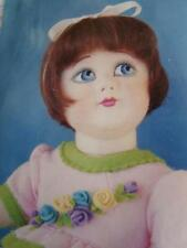 MOLDED FELT DOLL KIT TO MAKE BEAUTIFUL TODDLER 17in.