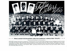 1960 TULSA OILERS 8X10 TEAM PHOTO ST. LOUIS CARDINALS  BASEBALL OKLAHOMA