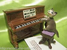 Hagen Renaker Upright Piano 3124 w/ Kitten on Bench Figurine Miniature FREE SHIP