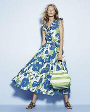 NEW KATE SPADE Sunshine Maxi DRESS $438 SIZE 0 FLORAL RUFFLE NORDSTROM