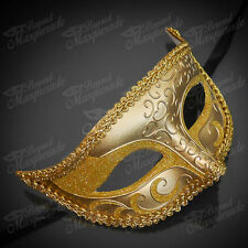 Mens Mysterious Charming Prince Venetian Costume Masquerade Ball Eye Mask