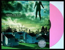 ARMOR FOR SLEEP What To Do When You're Dead LP PINK VINYL New STILL SEALED