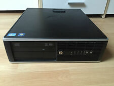 HP 6200 Pro SFF Intel Quad Core i5 3,3Ghz 8GB DDR3 250GB 1GB-Lan DVD-RW Win7 Pro