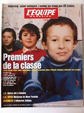 L'Equipe Magazine du 09/09/1995; Papin, Platini, Pérec, Prost, Noah à l'école