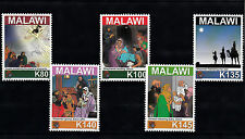 Malawi 2011 MNH Christmas 5v Set Nativity Jesus Angels Shepherds Wise Men