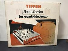 Tiffen Cassette Recorder for sound / slide shows Model 7100  Never used.