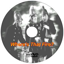 Where's That Fire? - Will Hay - British Comedy - DVD - 1940