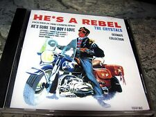 The Crystals: He's A Rebel; Phil Spector,Marginal Records CD) Very Rare + OOP