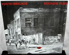 YOUTH BRIGADE Sound And Fury LP PUNK ROCK Hardcore SHAM 69 Agression 7 SECONDS