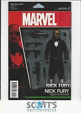NICK FURY #1 ACTION FIGURE VARIANT NEW (BOARD & BAGGED) FREEPOST