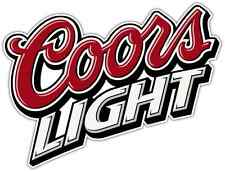 "Coors Light Beer Alcohol Car Bumper Window Locker Sticker Decal 5""X4"""