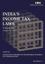 India's Income Tax Laws : Volume One (Chapters I to VI-B) by L. A. RI (2013,...