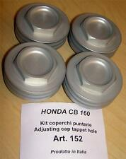 Honda CB125 160 175 200 Cappellini 152 set/4 rocker valve cover inspection caps