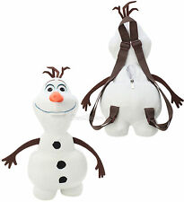 "NEW Disney FROZEN OLAF SNOWMAN PLUSH 15"" Long Costume Backpack Purse Tote Bag"