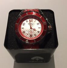 Orologio Kyboe Ky. 48-019-r ROSSO Giant 48 NUOVO CON SCATOLA REGALO IN SILICONE