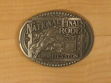 National Finals Rodeo Limited Collectors Belt Buckle, Hesston Corp. 1998 NFR