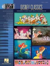 Piano Play-Along Disney Classics Learn to Play Pop Music Book & CD