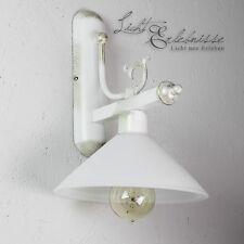 Elegante Wandleuchte im shabby chic Stil Wandlampe Jugendstil Lampe Leuchte