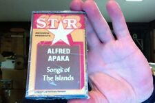 Alfred Apaka- Songs of the Islands- new/sealed cassette tape