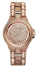 MICHAEL KORS Mini CAMILLE MK5948 Rose Gold Swarovski Crystals Glitz Women Watch