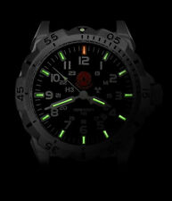 Praetorian Night Patrol Military Watch Tritium H3 Illumination Green GTLS