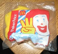 1999 Fisher Price McDonalds Happy Meal Under 3 Toy - Grimace Car