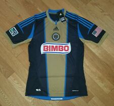 Adidas Philadelphia Union Authentic Formotion Jersey Men's Large Navy Gold NWT