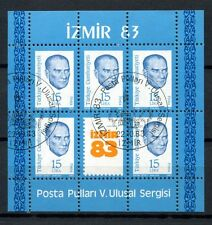 Turkey 1983 SG#MS2835 Izmir Stamp Exhibition  Cto Used M/S #A35766