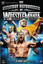 WWE - The Greatest Superstars of Wrestlemania (DVD, 2014)