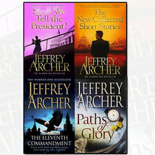 Jeffrey Archer Collection Eleventh Commandment 4 Book Set Pack Short Stories NEW