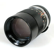 135MM F2.8 SCREW M42 LENS W/ REAR CAP, GOOD FOR MICRO 4/3 ((FOR PARTS))