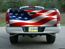 T31 AMERICAN FLAG USA TAILGATE WRAP Vinyl Graphic Decal Sticker Tint Bed