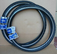 "1 PAIR 26""X2.10 Schwalbe Marathon Plus MTB CYCLE/MOUNTAIN BIKE TYRES NEW BLACK"