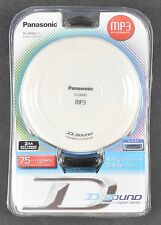 Panasonic MP3 Portable CD Player SL-SX480P-W Brand New w Headphones