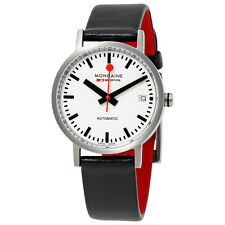 Mondaine Classic Automatic White Dial Ladies Watch A128.30008.16SBC