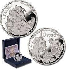ESPAÑA 10 euro plata 2015 TINTORETTO  - Tesoros Museos Españoles 8 reales
