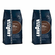 2kg LAVAZZA GRAND ESPRESSO CAFFè 2 x 1kg FOIL SIGILLATO NUOVO CON SCATOLA