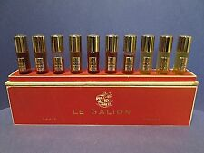 Vintage Le Galion Pure Perfume 10 Set Sortilege Snob Rose Brumes Gardenia Lily